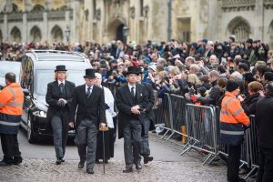 Security Services for Stephen Hawking's Funeral